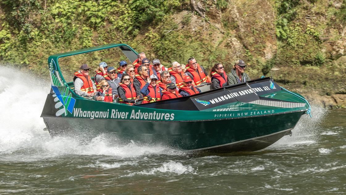 Whanganui River Adventures 20 Seat Boat